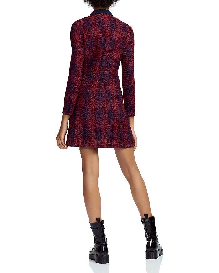c268d5ede4 Maje - Renitia Tweed Mini Shirt Dress