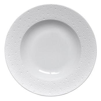 Bernardaud - Ecume White Rim Soup