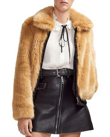 Maje - Brox Faux-Fur Jacket