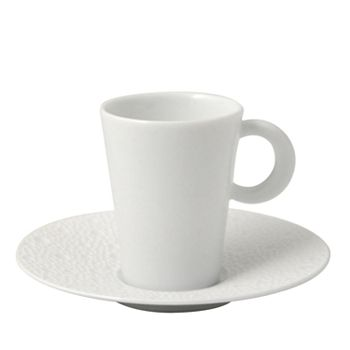 Bernardaud - Ecume White Coffee Cup