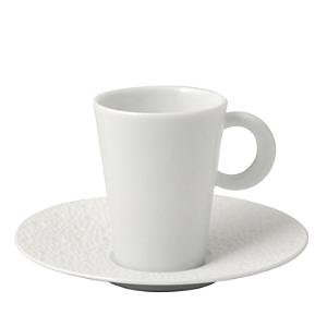 Bernardaud Ecume White Coffee Saucer