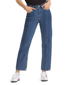 Tommy Jeans - 1990 High-Rise Ankle Straight-Leg Jeans in New Tommy Jeans Blue