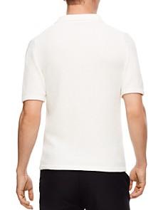 Sandro - Chenille Quarter-Zip Sweater