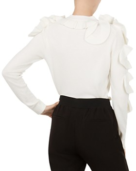 Ted Baker - Pallege Ruffle-Trimmed Sweater