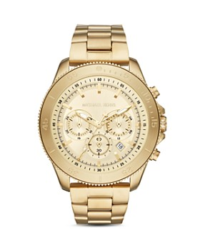 Michael Kors - Theroux Sport Gold-Tone Chronograph, 44.5mm