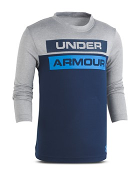 Under Armour - Boys' Logo Wordmark Tee - Little Kid