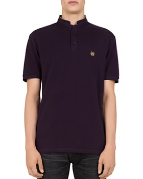 fb37f560ee2 The Kooples - Stand Collar Regular Fit Polo ...
