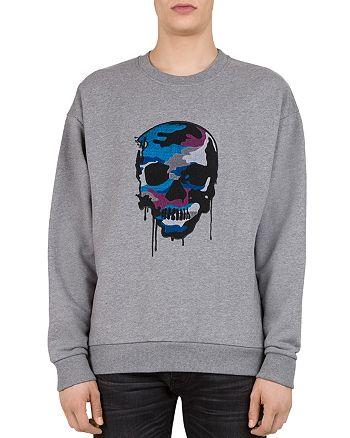 f0bcd99ad86 The Kooples Embroidered-Skull Sweatshirt | Bloomingdale's