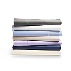 Hudson Park Collection - 500TC Sateen Wrinkle-Resistant Solid Sheets - 100% Exclusive