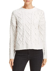 Honey Punch -  Chenille Cable Knit Sweater