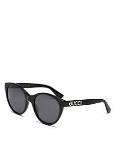 Gucci - Women's Embellished Cat Eye Sunglasses, 54mm