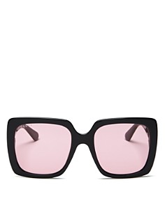 Gucci - Women's Embellished Square Sunglasses, 54mm