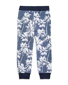 SOL ANGELES - Boys' Terry Palm Tree Jogger Pants - Little Kid, Big Kid
