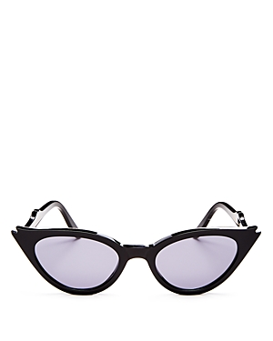 Illesteva Women's Isabella Cat Eye Sunglasses, 52mm