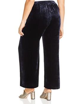 Eileen Fisher Plus - Velvet Wide-Leg Pants