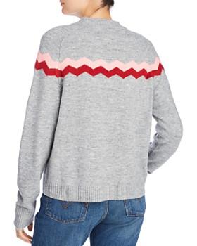 John and Jenn - Clyde Waved Stripe Sweater