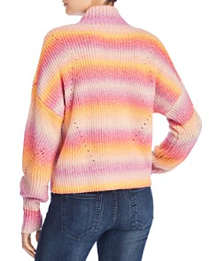 Rebecca Minkoff - Brinkley Multicolor Striped Sweater
