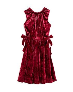 Habitual - Girls' Crushed Velvet Dress - Big Kid
