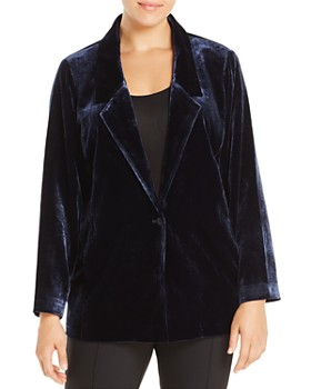 Eileen Fisher Plus - Velvet Blazer
