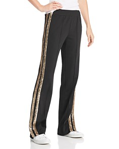 Sunset & Spring - Sequin Stripe Track Pants - 100% Exclusive