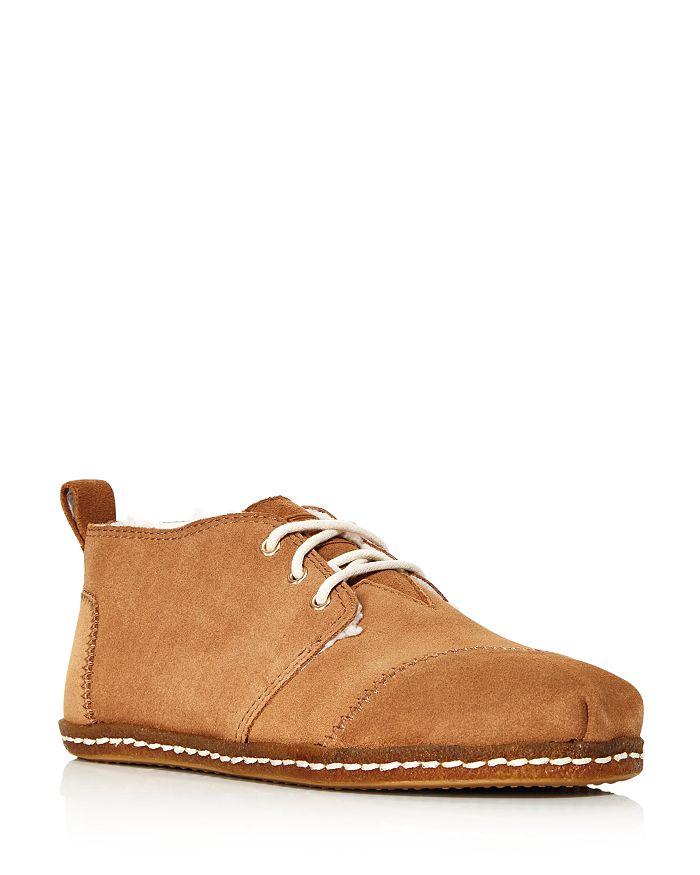 813666d648d TOMS - Women s Bota Suede Lace-Up Boots