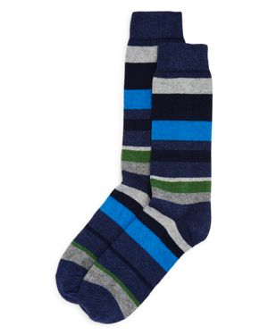 The Men's Store at Bloomingdale's Striped Socks - 100% Exclusive