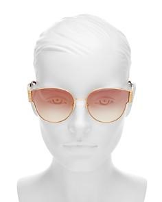Moschino - Women's Round Sunglasses, 61mm