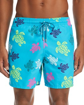 8f34e2bc00 Vilebrequin - Moorea Multicolored Turtle-Print Swim Shorts ...