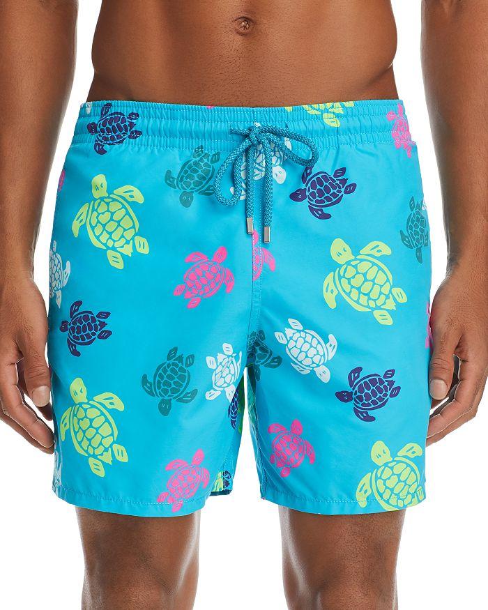 147d585d4d Vilebrequin Moorea Multicolored Turtle-Print Swim Shorts ...