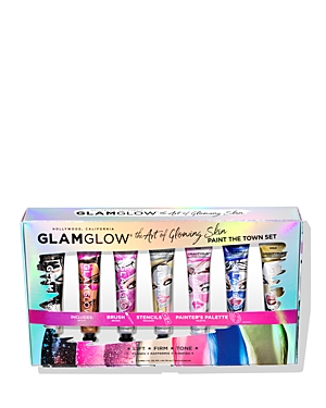 Glamglow THE ART OF GLOWING PAINT THE TOWN GRAVITYMUD GIFT SET