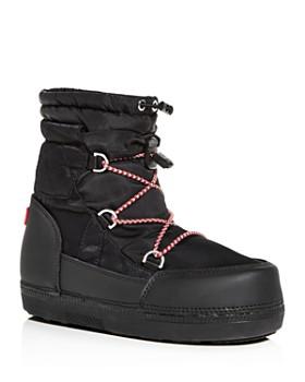 2f884eb68 Hunter - Women s Original Short Quilted Waterproof Platform Snow Boots ...