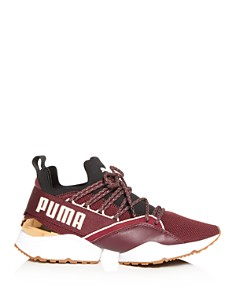 PUMA - Women's Muse Maia Knit Low-Top Sneakers