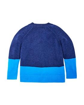 Burberry - Boys' Alistar Color-Block Cashmere Sweater - Little Kid, Big Kid