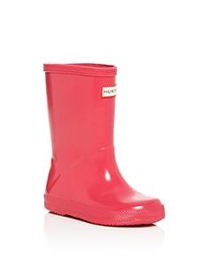 Hunter - Unisex First Gloss Rain Boots - Walker, Toddler, Little Kid