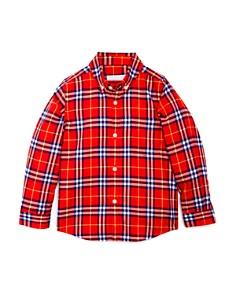 Burberry - Boys' Fred Check Flannel Shirt - Little Kid, Big Kid