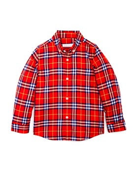Burberry - Boys' Fred Check Flannel Shirt - Little Kid, Big Kid