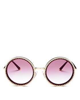 3d29fe42827 Dolce Gabbana - Women s Round Sunglasses