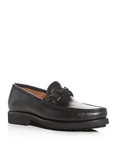 Bruno Magli - Men's Falcone Leather Moc-Toe Loafers