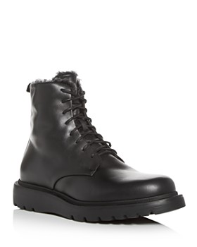 Aquatalia - Men's Charles Weatherproof Leather & Shearling Boots