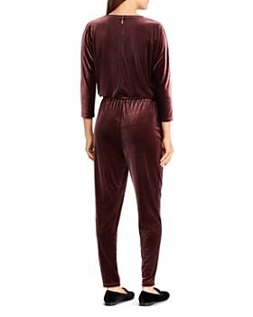 Ralph Lauren - Velvet Drawstring Jumpsuit
