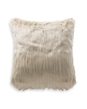 "Highline Bedding Co. - Faux Fur Decorative Pillow, 18"" x 18"""