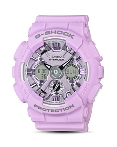 G-Shock - S Series Purple Watch, 45.9mm