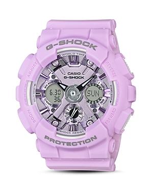 G-Shock G-SHOCK S SERIES PURPLE WATCH, 45.9MM