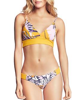 Maaji - Sun Bass Samba Reversible Triangle Bikini Top & Sun Bass Samba Reversible Bikini Bottom