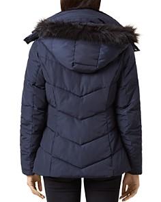HOBBS LONDON - Livia Faux Fur-Trim Puffer Coat