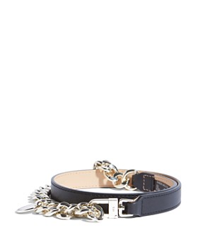 KAREN MILLEN - Chain Detail Leather Belt