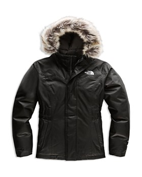 The North Face® - Girls' Greenland Faux-Fur Parka - Big Kid