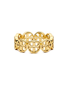 Tory Burch - Frozen Logo Ring