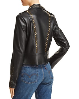 Ramy Brook - Yoma Studded Leather Jacket