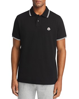32dd122fb02 Moncler - Tipped Contemporary Fit Polo Shirt ...